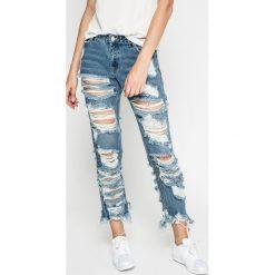 Missguided - Jeansy. Niebieskie jeansy damskie Missguided. W wyprzedaży za 119.90 zł.