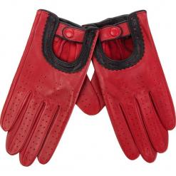 Rękawiczki Damskie WITTCHEN - 46-6L-292-2T Czerwony. Czerwone rękawiczki damskie Wittchen, ze skóry. Za 229.00 zł.