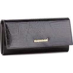 Duży Portfel Damski MONNARI - PUR0616-020 Black. Czarne portfele damskie Monnari, z lakierowanej skóry. Za 219.00 zł.