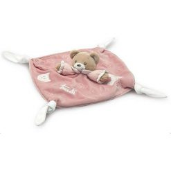 Kocyk przytulanka różowy miś Baby Bear (28246). Czerwone kocyki dla dzieci Trudi. Za 101.36 zł.