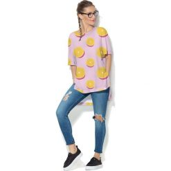 Colour Pleasure Koszulka CP-033  114 różowa r. uniwersalny. Bluzki damskie marki Colour Pleasure. Za 76.57 zł.