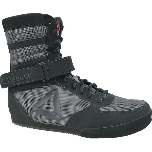 Buty zimowe męskie Reebok Fitness z nubuku czarne sportowe w