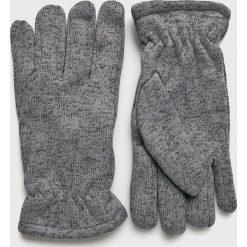 Blend - Rękawiczki. Szare rękawiczki męskie Blend, z dzianiny. W wyprzedaży za 39.90 zł.