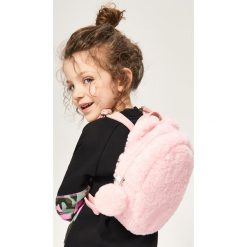 Futrzasty plecak - Różowy. Plecaki damskie marki Tuloko. W wyprzedaży za 29.99 zł.