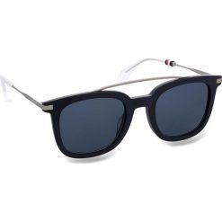 Okulary przeciwsłoneczne TOMMY HILFIGER - 1515/S Blue PJP. Niebieskie okulary przeciwsłoneczne damskie Tommy Hilfiger. W wyprzedaży za 449.00 zł.