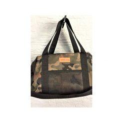 Sportowa torba Mili Fit Bag - black/moro. Zielone torby podróżne damskie Militu, moro. Za 230.00 zł.