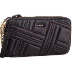 Torebka DKNY - Allen Camera Bag R83EB640  Bgd-Blk/Gold 82. Czarne listonoszki damskie DKNY, ze skóry. Za 639.00 zł.