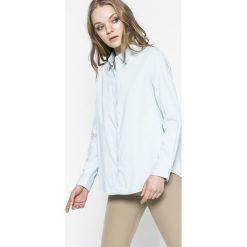 Levi's - Koszula. Brązowe koszule damskie Levi's, z bawełny, casualowe, z klasycznym kołnierzykiem, z długim rękawem. W wyprzedaży za 159.90 zł.