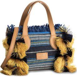 Torebka PATRIZIA PEPE - 2V7962/A4AS-C698 Pure Sky. Niebieskie torebki do ręki damskie Patrizia Pepe, z materiału. W wyprzedaży za 719.00 zł.