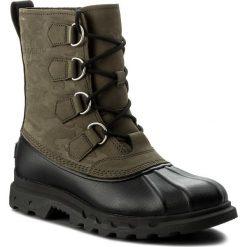 Śniegowce SOREL - Portzman Classic Camo NM2633 Black 383. Zielone śniegowce i trapery męskie Sorel, z gumy. W wyprzedaży za 419.00 zł.