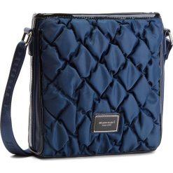 Torebka MONNARI - BAGB321-013 Granatowy. Niebieskie listonoszki damskie Monnari, z materiału. W wyprzedaży za 169.00 zł.