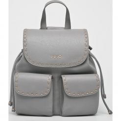 Liu Jo - Plecak. Szare plecaki damskie Liu Jo, z materiału. Za 649.90 zł.