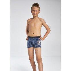 Bokserki chłopięce Young 700/67 Athletic jeans r. 140. Szare bielizna dla chłopców Cornette, z jeansu. Za 27.32 zł.