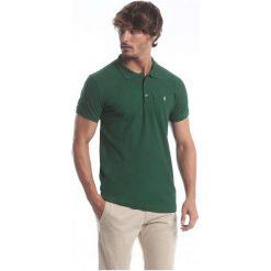 Polo Club C.H..A Koszulka Polo Męska Xl Zielona. Zielone koszulki polo męskie Polo Club C.H..A, z bawełny. W wyprzedaży za 139.00 zł.