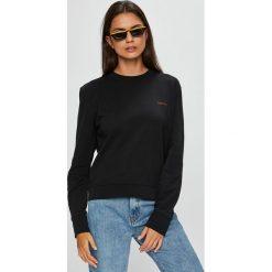 Calvin Klein - Bluza. Szare bluzy damskie Calvin Klein, z bawełny. Za 449.90 zł.