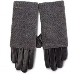 Rękawiczki Damskie WITTCHEN - 39-6-563-1 Czarny Szary. Czarne rękawiczki damskie Wittchen, z materiału. Za 249.00 zł.