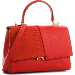 Torebka KAZAR - Barrie 33172-16-04  Red. Czerwone torebki do ręki damskie Kazar, z nubiku. W wyprzedaży za 529.00 zł.