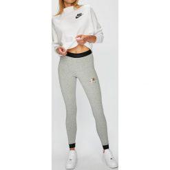 Nike Sportswear - Legginsy. Szare legginsy damskie Nike Sportswear, z bawełny. Za 159.90 zł.