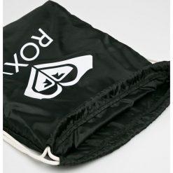 Roxy - Plecak. Czarne plecaki damskie Roxy, z materiału. W wyprzedaży za 59.90 zł.