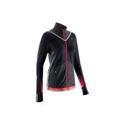 Bluza do biegania KIPRUN WARM damska. Fioletowe bluzy damskie KALENJI. W wyprzedaży za 99.99 zł.