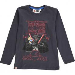 Koszulka w kolorze antracytowym. Zielone t-shirty dla chłopców marki Lego Wear Fashion, z bawełny, z długim rękawem. W wyprzedaży za 42.95 zł.