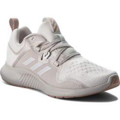 Buty adidas - Edgebounce W AC8116 Ftwwht/Greone/Ashpea. Białe obuwie sportowe damskie Adidas, z materiału. W wyprzedaży za 279.00 zł.