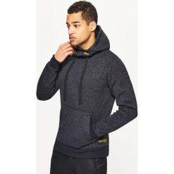 Sweter o kroju bluzy - Czarny. Czarne swetry przez głowę męskie Cropp. Za 119.99 zł.