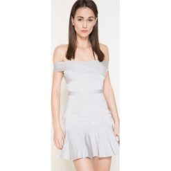 Missguided - Sukienka. Szare sukienki damskie Missguided, z elastanu, casualowe. W wyprzedaży za 149.90 zł.