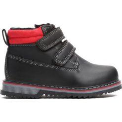 Czarne Traperki Go Ahead. Czarne buty zimowe chłopięce Born2be, z materiału. Za 69.99 zł.