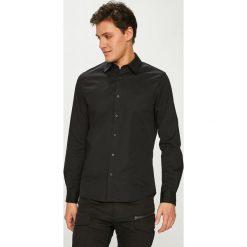 Calvin Klein Jeans - Koszula. Szare koszule męskie Calvin Klein Jeans, z bawełny, z klasycznym kołnierzykiem, z długim rękawem. Za 299.90 zł.