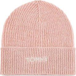 Czapka TOMMY HILFIGER - Effortless Knit Bean AW0AW05950 655. Czerwone czapki i kapelusze damskie Tommy Hilfiger, z materiału. Za 229.00 zł.