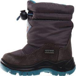 """Kozaki zimowe """"Varna"""" w kolorze antracytowym. Buty zimowe dziewczęce Zimowe obuwie dla dzieci. W wyprzedaży za 172.95 zł."""