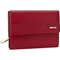 Duży Portfel Damski VALENTINI - 157.P6 Red. Czerwone portfele damskie Valentini, ze skóry. Za 159.00 zł.