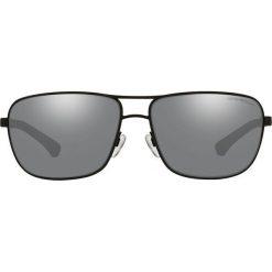 Emporio Armani - Okulary 0EA2033. Brązowe okulary przeciwsłoneczne męskie Emporio Armani, z materiału. Za 739.90 zł.
