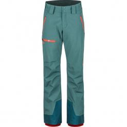 """Spodnie narciarskie """"Refuge"""" w kolorze morskim. Spodnie snowboardowe męskie marki WED'ZE. W wyprzedaży za 523.95 zł."""