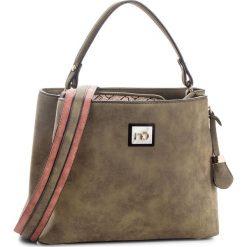 Torebka NOBO - NBAG-F0250-C008 Khaki. Zielone torebki do ręki damskie Nobo, ze skóry ekologicznej. W wyprzedaży za 149.00 zł.