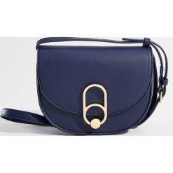 Torebka na ramię - Granatowy. Niebieskie torby na ramię damskie Mohito. Za 89.99 zł.