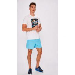 Adidas Performance - Szorty. Szare krótkie spodenki sportowe męskie adidas Performance, z materiału. W wyprzedaży za 99.90 zł.