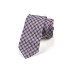 Krawat męski  COMILAS. Fioletowe krawaty i muchy Hisoutfit, z materiału. Za 129.00 zł.