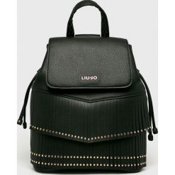Liu Jo - Plecak. Czarne plecaki damskie Liu Jo, z materiału. Za 649.90 zł.