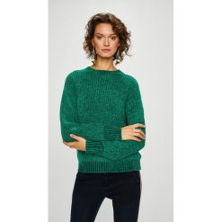Medicine - Sweter Secret Garden. Szare swetry damskie MEDICINE, z dzianiny, z okrągłym kołnierzem. W wyprzedaży za 95.90 zł.