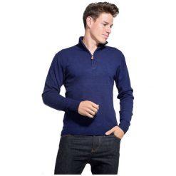 William De Faye Sweter Męski Xl Niebieski. Niebieskie swetry przez głowę męskie William de Faye. W wyprzedaży za 205.00 zł.