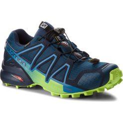 Buty SALOMON - Speedcross 4 Gtx GORE-TEX 404923 27 G0 Poseidon/Navy Blazer/Lime Green. Niebieskie buty sportowe męskie Salomon, z gore-texu. W wyprzedaży za 489.00 zł.