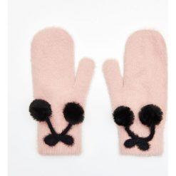 Rękawiczki jednopalczaste - Różowy. Czerwone rękawiczki damskie Cropp. Za 34.99 zł.