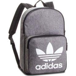 Plecak adidas - Bp Class Casual D98923  Black/White. Szare plecaki damskie Adidas, z materiału, casualowe. W wyprzedaży za 129.00 zł.