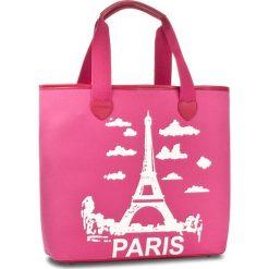 Torebka TWINSET - Shopping AS8PNA St. Paris Bambola 02306. Czerwone torebki do ręki damskie Twinset, z materiału. W wyprzedaży za 259.00 zł.