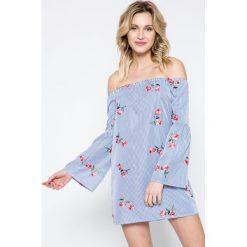 Missguided - Sukienka. Szare sukienki damskie Missguided, z bawełny, casualowe. W wyprzedaży za 59.90 zł.