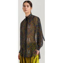Elegancka koszula ReDesign - Wielobarwn. Brązowe koszule damskie Reserved, eleganckie. Za 239.99 zł.