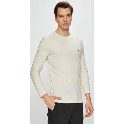 Tommy Hilfiger - Longsleeve. Szare bluzki z długim rękawem męskie Tommy Hilfiger, z bawełny, z okrągłym kołnierzem. Za 159.90 zł.