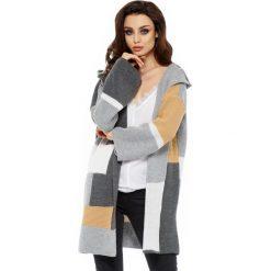 Unikalny sweter kardigan multikolor ls204. Szare kardigany damskie Lemoniade. W wyprzedaży za 119.00 zł.
